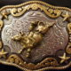 Youth Bull Riding Buckle - Large