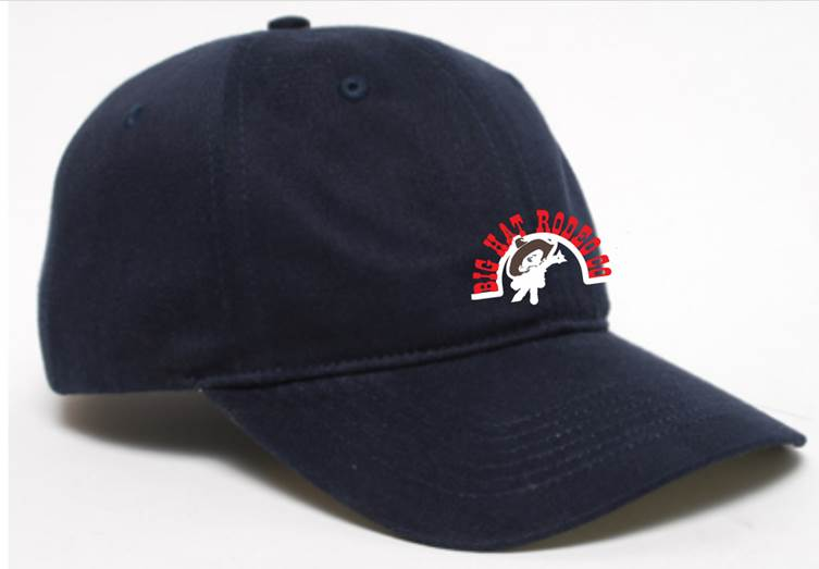 Navy Baseball Cap Big Hat Rodeo Co Pro Rodeos Bull